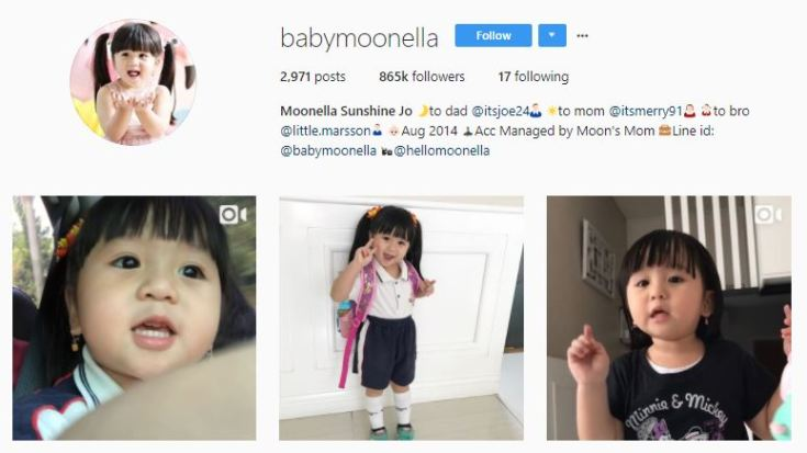 Baby Moonella